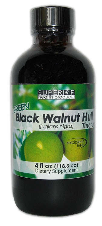 Green Black Walnut Hull Extra Strength Tincture