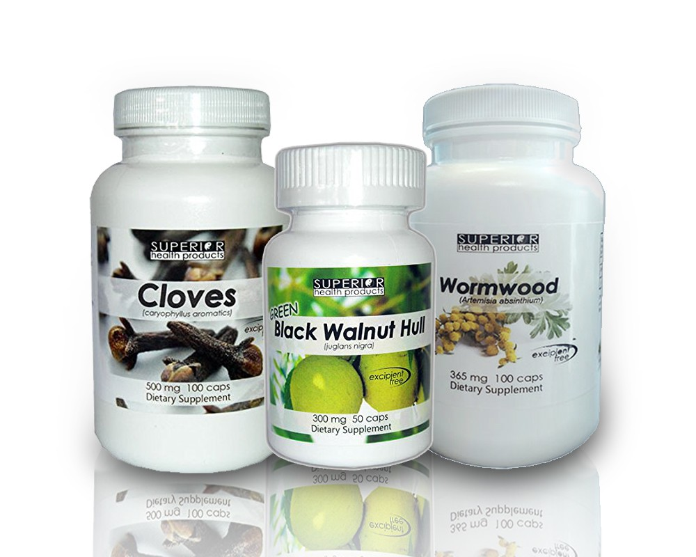 Parasite Cleanse (with Green Black Walnut Freeze Dried Capsules)  Regular Price $46.61 • Save 10% Now $41.95