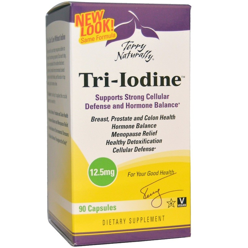 Terry Natrually - Tri-Iodine 12.5mg 90caps