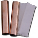 Copper Handholds with Cotton Covers